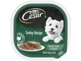 CESAR Classic Turkey in Meaty Juices Wet Dog Food 24ct/3.5oz