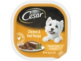 CESAR Classic with Chicken & Veal in Meaty Juices Wet Dog Food 24ct/3.5oz