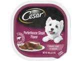CESAR Classic Porterhouse Steak Flavor in Sauce Wet Dog Food 24ea/3.5oz