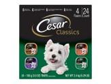 CESAR Canine Cuisine Poultry Variety Pack Dog Food 3.5oz/24pk