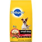 PEDIGREE Small Dog Complete Nutrition Grilled Steak & Vegetable Dog Food 3.5lb