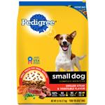 PEDIGREE Small Dog Complete Nutrition Grilled Steak & Vegetable Dog Food 15.9lb