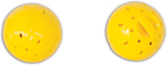 Jackson Galaxy Spiral LED Ball Cat Toy Yellow 1ea/2 pk