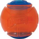 Chuckit! Flash Led Ball Dog Toy Blue, Orange 1ea/Medium