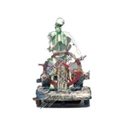 Penn-Plax Skeleton wheel Air Ornament