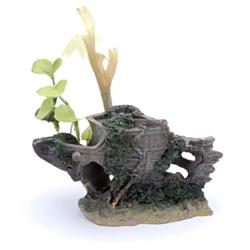 Penn-Plax Shipwreck Bow Ornament Small