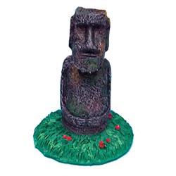 Penn-Plax Easter Island Statue Ornament