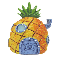 Penn-Plax Spongebob's Pineapple Home Ornament