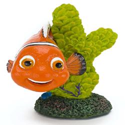 Penn-Plax Mini Nemo On Coral Ornament