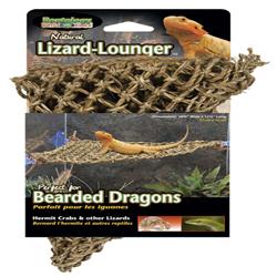 Penn-Plax Natural Lizard Lounger Climbing & Resting Mats Corner Small 15 X 8in