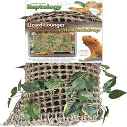 Penn-Plax Lizard Lounger with Vines 23X14