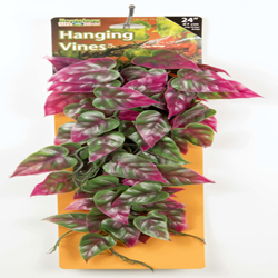 Penn-Plax Reptile Vine Green/ Red 24in