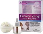 Comfort Zone Diffuser Kit for Cat Calming   MultiCat Calming Formula Single Diffuser Kit, 1 Diffuser, 1 Refill 1ea/1-Diffuser And 1-1.62 Fl Oz (48Ml)