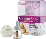Comfort Zone Diffuser Kit for Cat Calming   Cat Calming Formula 1ea/2-Diffusers And 2-1.62 Fl Oz (48Ml) Refills