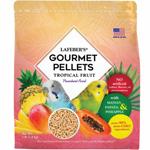 Lafeber Tropical Fruit Gourmet Pellets Parakeet Bird Food 4lb