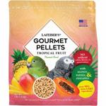 Lafeber Tropical Fruit Gourmet Pellets Parrot Bird Food 4lb