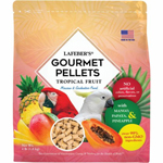 Lafeber Tropical Fruit Gourmet Pellets Macaw Bird Food 4lb