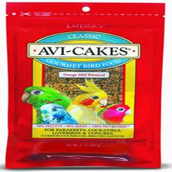 Lafeber Avi-Cakes Classic Parakeet/Cockatiel 8oz