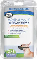 Four Paws Quick Fit Dog Muzzle 1ea/0-XXS