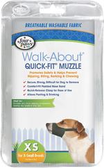 Four Paws Quick Fit Dog Muzzle 1ea/1-XS