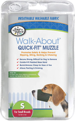 Four Paws Quick Fit Dog Muzzle 1ea/2-Small