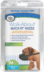 Four Paws Quick Fit Dog Muzzle 1ea/3XL