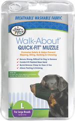 Four Paws Quick Fit Dog Muzzle 1ea/4-Large