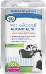 Four Paws Quick Fit Dog Muzzle 1ea/5-XL