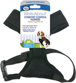 Four Paws Comfort Control Dog Harness Black 1ea/Extra Large
