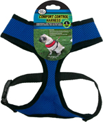 Four Paws Comfort Control Dog Harness Blue 1ea/Extra Large