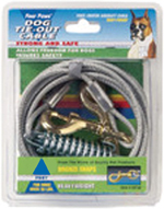 Four Paws Heavy Weight Tie Out Cable Silver 1ea/30 ft