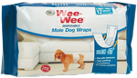 Four Paws Wee-Wee Disposable Male Dog Wraps 12 Count 1ea/X-Small / Small