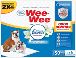 Four Paws Wee-Wee Odor Control with Febreze Freshness Pads 100 Count 1ea/Standard 22 in X 23 in