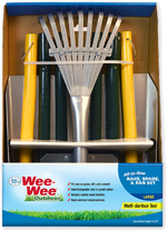 Four Paws Wee-Wee All-in-One Dog Poop Rake, Spade and Pan Set 1ea/Large, 9.5 in X 10 in X 38 in