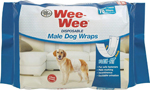 Four Paws Wee-Wee Disposable Male Dog Wraps 36 Count 1ea/Medium / Large