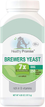 Four Paws Healthy Promise Brewers Yeast for Dogs 250 Count 1ea/4.85 oz