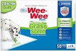 Four Paws Wee-Wee Grass Scented Puppy Pads 100 Count 1ea/Standard 22 in X 23 in
