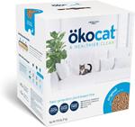 Okocat Litter Natural Wood Clumping Cat Litter 1ea/9.9 lb