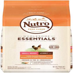 NUTRO NATURAL CHOICE Chicken Rice & Sweet Potato Small BreedDry Dog Food 5lb