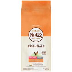 NUTRO NATURAL CHOICE Chicken Rice & Sweet Potato Small Breed Sr Dry Dog Food 5lb