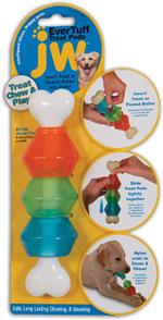 JW Pet Treat Pod Bone Dog Toy 1ea/Large