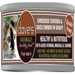 Dave Cat Grain Free Shredded Chicken N Dog/Cat  2.8 Oz (Case Of 24)