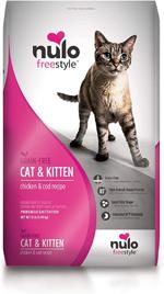 Nulo Cat & Kitten Grain-Free Chicken & Cod Dry Cat Food 1ea/2 lb