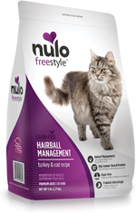 Nulo Hairball Management Turkey & Cod Cat Food 1ea/12 lb