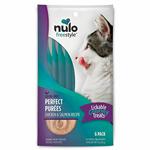 Nulo Freestyle Cat Puree Grain Free Chicken & Salmon 6 Pack