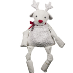 Huggle Hounds Dog Xmas Sqooshie Reindeer Small