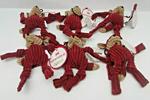 Huggle Hounds Dog Xmas Santa Wee 6 Pack