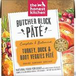The Honest Kitchen Dog Butcher Block Pate Turkey & Duck 10.5 Oz