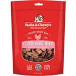 STELLA & CHEWY'S DOG FREEZE-DRIED TREAT CHICKEN HEARTS 11.5OZ