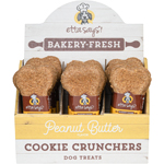 Etta Says Dog Cookie Cruncher Peanut Butter 5 Inches 1 Oz (24 count)